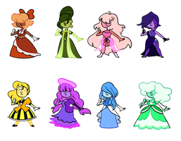 Sapphire Adopts (3/8 Open) by popinat