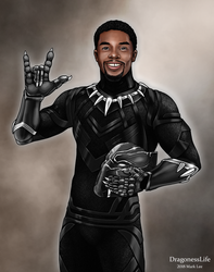 The Black Panther ASL by DragonessLife