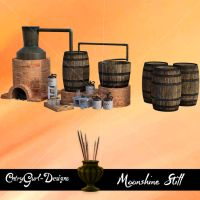 Moonshine Still by CntryGurl-Designs