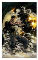 the Punisher colors by spidey0318