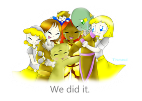 We Did It. by Tiramasui