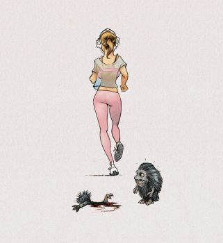 Sport is murder by girlsandmonsters