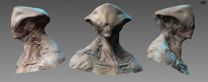 ALien_Livestream_Head by Ikameka