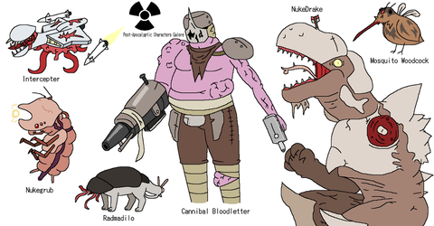 OC Profile: Post-Apocalyptic Characters Mk.2 by aeea7835