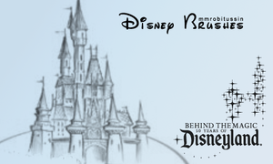 Disney Logo Brushes by mmrobitussin