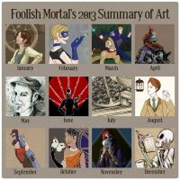 2013 Summary 0f Art by lissa-quon
