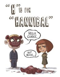 H Is For Hannibal by OtisFrampton