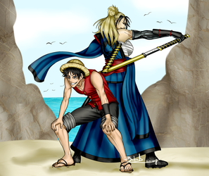 One Piece- The King And The Storyteller by R-Blackout