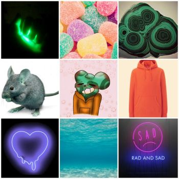 Mousey Moodboard by Punny-Trash