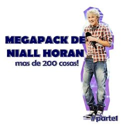MEGAPACK NIALL HORAN (parte1) by Vaale-Editions
