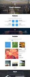 Pulse premium one page bootstrap template by jurajmolnar