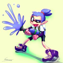 Splatoon guy by ImoonArt