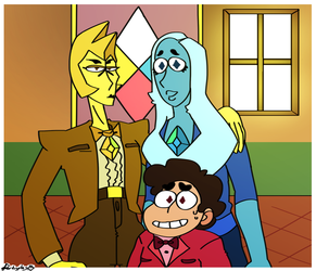 Reunited: A Family Portrait by ImHereToDie