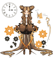 [ ADOPTABLES ] Steampunk Doll ( CLOSED ) by bun-nanami