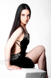 Lady in Black Stock 02 by LoryenZeytin