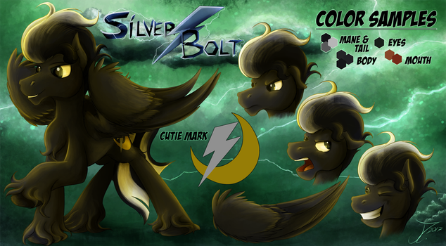 Fanart - MLP. Silver Bolt Sheet by jamescorck