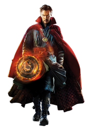 Dr. Strange Character PNG by mintmovi3
