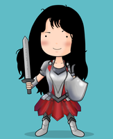 Lady Sif by ice-cream-skies