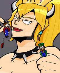 Bowsette by a12944879