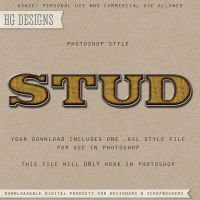 PS Style: STUD by HGGraphicDesigns