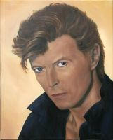 David Bowie by nicoletaggart