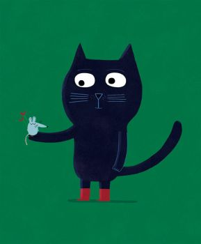 Cat and mouse by nicolas-gouny-art