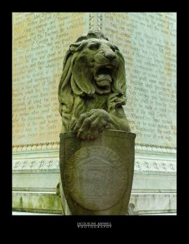 Oglethorpe's Lion by Isquiesque