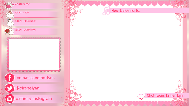 All Pink Overlay by mine22mine