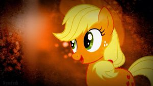 Applejack Wallpaper by InsomniaQueen