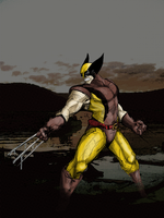 why i should color wolverine by yarrbunny