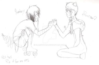 Promise? :COLLAB: by ClassyNaru