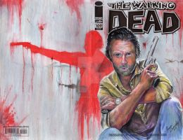 RICK GRIMES - The Walking Dead (Sketch Cover) by The-Art-of-Ravenwolf