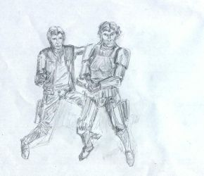 solo poses by sfxdx
