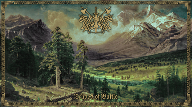 Caladan Brood - Echoes Of Battle (LP Cover) by adamtsiolas