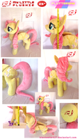 My Little Plushie: Fluttershy by BlackWater627