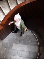 Nagito Komaeda Cosplay 3 by ucccoffee