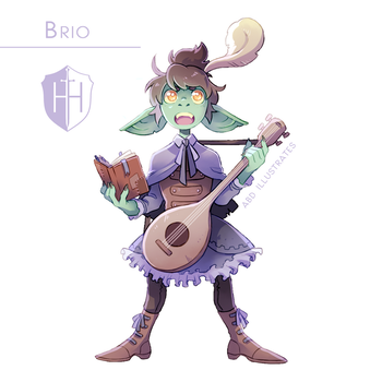 High Hopes Low Rolls: Brio [SPEEDPAINT] by ABD-illustrates