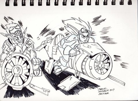 Jaktober: Race to the End by Chauvels