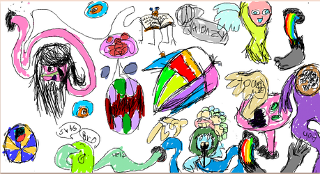 iscribble madness by Stupid-Kat