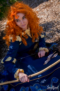 Armed and Ready - Merida by AnnieChie