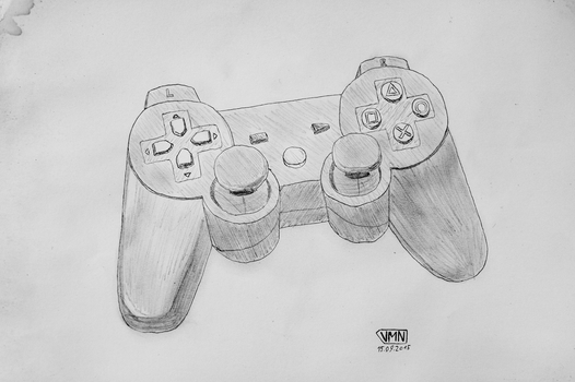 PS3 Controller by V1lian