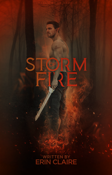 Book Cover 045 - Storm of Fire by sohappilyart