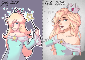 draw this again -- rosalina by kitiipng