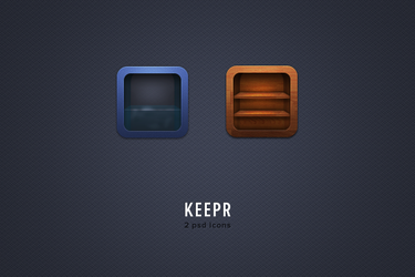 keepr free psd icons by LeMex