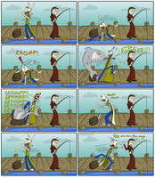 Barbarian Fishing Logic by prezleek