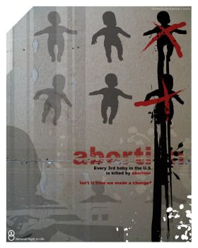 Abortion Poster 1 by Shreeb