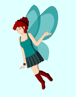 Vector: Fairy by memoire-blanche