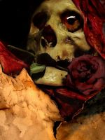 Till A Rose Becomes Death by insaneone