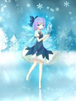 Fairy of Ice by elaphine