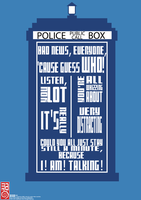 Doctor Who - Poster #1 by Makintosh91